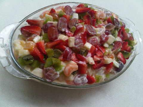 Custom fruit salad